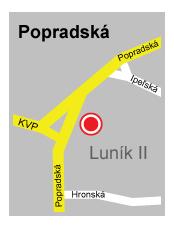 Popradská ul.
